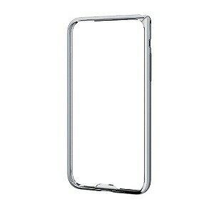 エレコム iPhoneX アルミバンパー 薄型 PM−A17XALBUSV シルバー