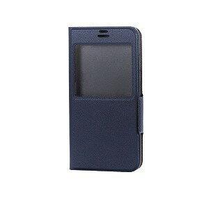 エレコム iPhone8/7 (4.7) 手帳型 ソフトレザーカバー  窓付 磁石付 PM−A17MPLFWTNV