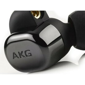 AKG 「ハイレゾ音源対応」[マイク付]カナル型イヤホン AKGN5005BLKJP (ピアノブラック)