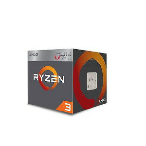 AMD AMD Ryzen 3 2200G with Wraith Stealth cooler YD2200C5FBBOX(送料無料)