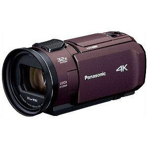 パナソニック SD対応 64GBメモリー内蔵4Kビデオカメラ HC−VX1M ブラウン
