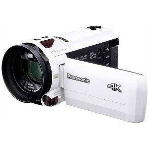 パナソニック SD対応 64GBメモリー内蔵4Kビデオカメラ HC−VX990M ホワイト(送料無料)