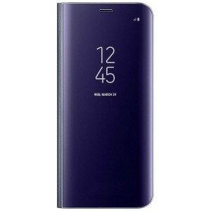 サムスン 「サムスン純正」 Galaxy S8用 ClearViewカバー バイオレット EF−ZG950CVEGJP