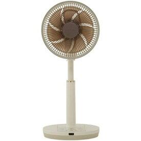 アピックスインターナショナル リビング扇風機リモコン付き [DCモーター搭載/7枚羽根] AFL−328R−CG