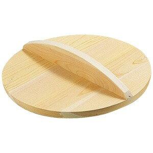 雅うるし工芸 厚手サワラ木蓋 (鉄餃子鍋45cm用) 48cm用 AKB02048