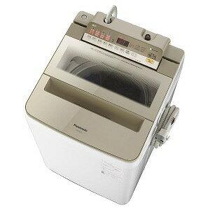 パナソニック 全自動洗濯機 (洗濯8.0kg) NA−FA80H6−N シャンパン(標準設置無料)