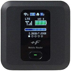 富士ソフト 「SIMフリー microSIMx1」 モバイルルータ LTE/Wi−Fi FS030WMB1 ブラック