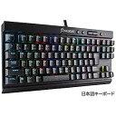 コルセア 有線ゲーミングキーボード K65 RAPIDFIRE CherryMX Speed RGB CH−9110014−JP