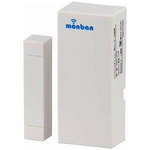 オーム電機 ワイヤレスチャイム 「monban」 扉開閉センサー送信機 OCH−M70