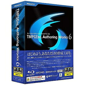 ペガシス 〔Win版〕 TMPGEnc Authoring Works 6 TMPGENC AUTHORING WO