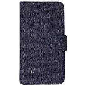 オウルテック スマートフォン用[幅 73mm/5.2インチ] デニム生地 手帳型マルチケース デニム OWL−CVMUM09−DEI