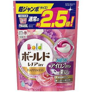 P&G Bold(ボールド)ジェルボール3D 癒しのプレミアムブロッサムの香り つめかえ用 超ジャンボサイズ (44個) 〔衣類用洗剤〕