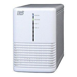 ラトック USB3.0 RAIDケース (HDD2台用) ホワイトシルバー RS−EC32−U3RWSX