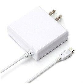PGA タブレット/スマートフォン対応[micro USB] AC充電器 2A (2m・ホワイト) PG−MAC20A02WH