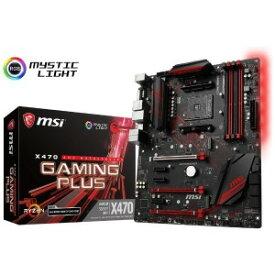 MSI ゲーミングマザーボード MSI X470 GAMING PLUS [ATX]