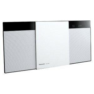 パナソニック 「ワイドFM対応」Bluetooth対応 コンパクトステレオシステム SC−HC300−W ホワイト(送料無料)
