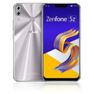 ASUS SIMフリースマートフォン Zenfone 5Z Series ZS620KL−SL128S6 スペースシルバー(送料無料)