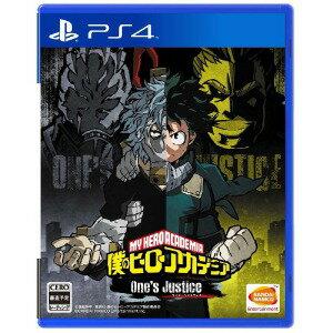 バンダイナムコ PS4ゲームソフト 僕のヒーローアカデミア One's Justice