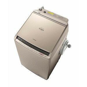 日立 タテ型洗濯乾燥機 (洗濯10.0kg/乾燥5.5kg)「ビートウォッシュ」 BW−DV100C シャンパン(標準設置無料)