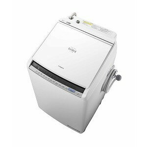 日立 タテ型洗濯乾燥機 (洗濯8.0kg/乾燥4.5kg)「ビートウォッシュ」 BW−DV80C ホワイト(標準設置無料)