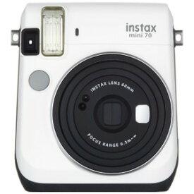 富士フイルム インスタントカメラ チェキ instax mini 70N ホワイト INSMINI70NWHITE