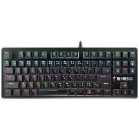 GAMDIAS 有線ゲーミングキーボード 赤軸キースイッチ Hermes E2 RED HERMESE2RED
