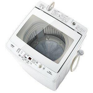 AQUA 全自動洗濯機 (洗濯8.0kg) AQW−GV80G−W(標準設置無料)