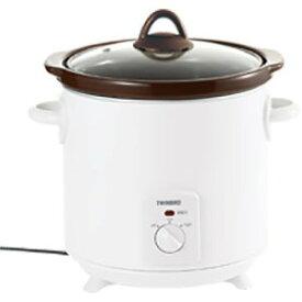 ツインバード 電気調理鍋 「スロークッカー」(3.0L) EP−D819W (ホワイト)