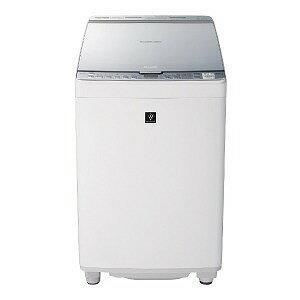 シャープ タテ型洗濯乾燥機 (洗濯8.0kg/乾燥4.5kg) ES−PX8C−S シルバー(標準設置無料)