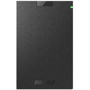 バッファロー USB3.1(Gen.1)対応 ポータブルHDD HD−PCG500U3−BA