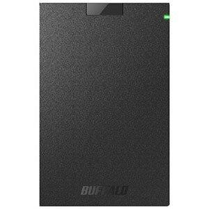 バッファロー USB3.1(Gen.1)対応 ポータブルHDD HD−PCG2.0U3−GBA