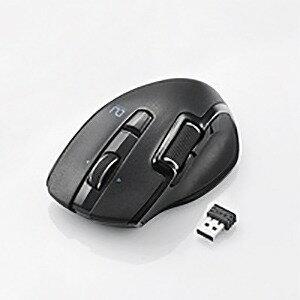エレコム Ultimate Blueマウス/DUAL/ハードウェアマクロ/無線/Mサイズ/6ボタン M−DWM01DBBK