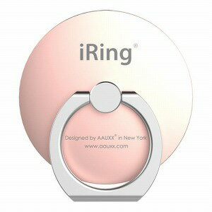 UNIQ iRing Circle UMS−IR07IMCRG ローズゴールド
