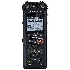 オリンパス リニアPCMレコーダー LS−P4BLK ブラック [Bluetooth対応 /8GB /ハイレゾ対応](送料無料)