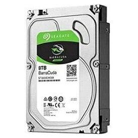 「バルク品・保証無」内蔵HDD 8TB [3.5インチ・SATA] BarraCuda ST8000DM004