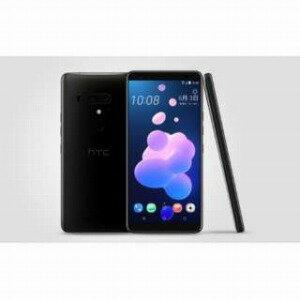HTC nanoSIM SIMフリースマートフォン HTC U12+ セラミックブラック