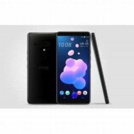 HTC SIMフリースマホ「U12+」 [6.0型/メモリ6GB/ストレージ128GB] HTC U12+ セラミックブラック