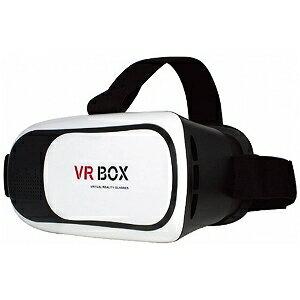 スマートフォン対応[3.5〜6インチ] 3DVRゴーグル VR−01−WH