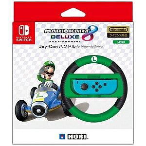 HORI マリオカート8DX Joy−Conハンドル for Nintendo Switch ルイージ NSW−055[Switch]