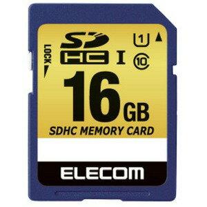 エレコム ドラレコ/カーナビ向け車載用SDHCメモリカード(16GB) MF−CASD016GU11A