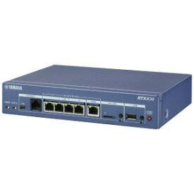 YAMAHA 有線ブロードバンドルーター[4ポート・Gigabit対応] ギガアクセスVPNルーター (コンソールケーブル YRC−RJ45Cバンドルモデル) RTX830/CM