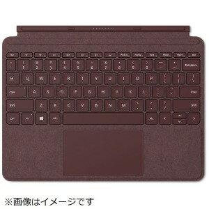 マイクロソフト 【純正】 Surface Go用 Surface Go Signature タイプ カバー KCS−00059 バーガンディ