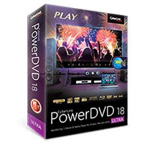サイバーリンク 〔Win版〕 PowerDVD 18 Ultra 通常版 [Windows用] DVD18ULTNM001(送料無料)