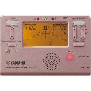 YAMAHA チューナー・メトロノーム TDM−700P ピンク