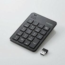 エレコム 無線テンキーボード/パンタグラフ/薄型/ブラック TK−TDP019BK