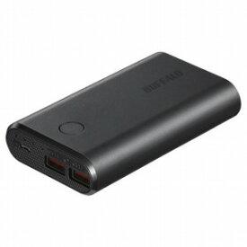 バッファロー モバイルバッテリー[10050mAh/2ポート] BSMPB10028P2−BK ブラック
