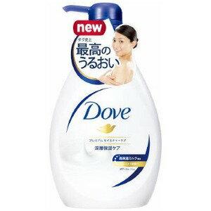 日本リーバ Dove(ダヴ) ボディウォッシュ  プレミアム モイスチャーケア ポンプ 500g 〔 ボディソープ〕