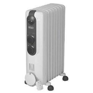 デロンギ オイルヒーター (8畳〜10畳) RHJ35M0812−DG ピュアホワイト+ダークグレイ