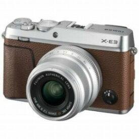 富士フイルム ミラーレス一眼カメラ 【XF23mmF2レンズキット】 X−E3 ブラウン