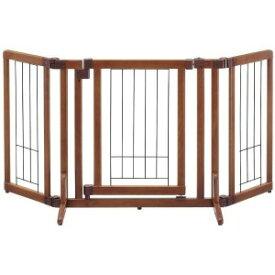 リッチェル ペット用木製おくだけドア付ゲート(S) モクセイオクダケドアツキゲートS